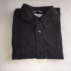 Ezekiel black Botton Down Men Shirt